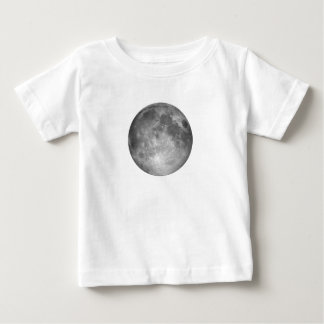 満月の乳児のTシャツ ベビーTシャツ