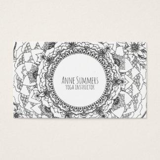満月の曼荼羅カード 名刺