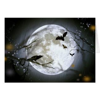 満月の熱の~ グリーティングカード