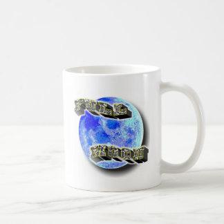 満月の青 コーヒーマグカップ