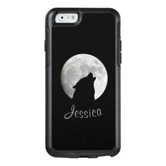 満月、あなたの名前で遠ぼえしているオオカミ オッターボックスiPhone 6/6Sケース