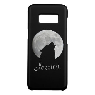 満月、あなたの名前で遠ぼえしているオオカミ Case-Mate SAMSUNG GALAXY S8ケース