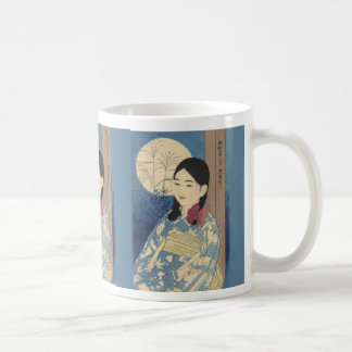 満月 コーヒーマグカップ