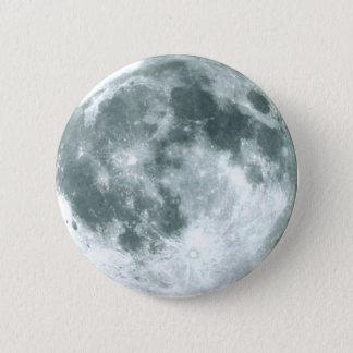 """""""満月""""ボタン 5.7CM 丸型バッジ"""