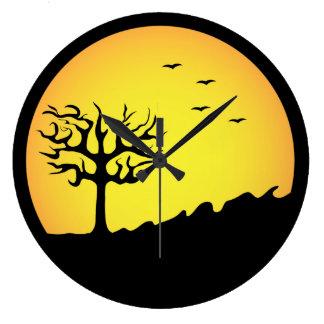 満月 ラージ壁時計