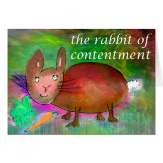 満足[カード]のウサギ カード