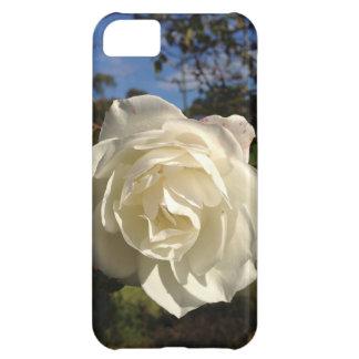 満開の白いバラ iPhone5Cケース