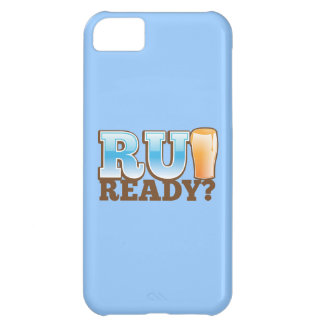 準備ができたR Uか。 ビールガラス iPhone5Cケース