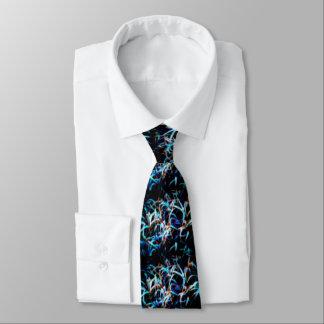 準正装のユニークで芸術的な着色された野草 ネクタイ