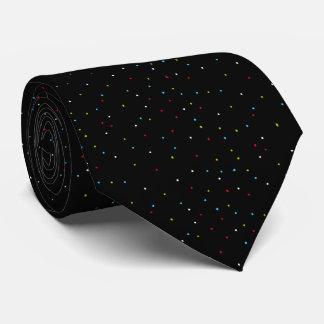準正装スタイリッシュで小さく明るい斑点 ネクタイ