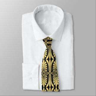 準正装美しい芸術の装飾の金ゴールド オリジナルネクタイ