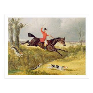 溝を取り除きます、1839年(パネルの油) ポストカード
