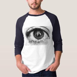 溶かされた目 Tシャツ