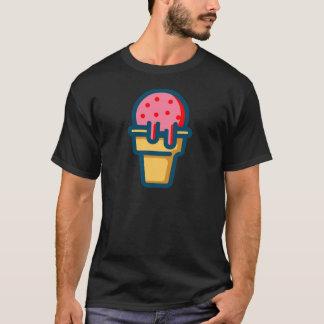 溶けるアイスクリーム Tシャツ