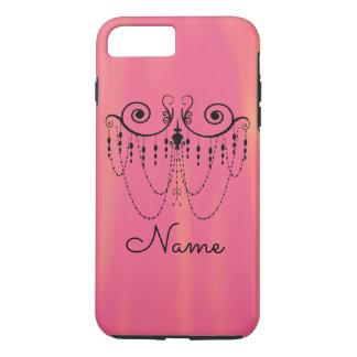溶けるピンク- iPhone 7のプラスの場合 iPhone 8 Plus/7 Plusケース
