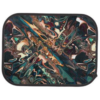 溶ける銅の抽象芸術 カーマット