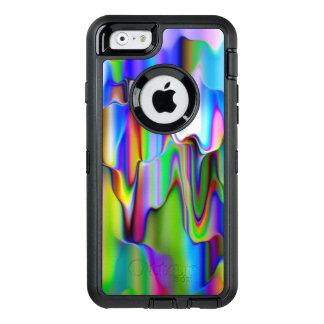 溶けるRaibowのアイスクリーム オッターボックスディフェンダーiPhoneケース