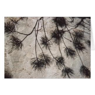 溶岩の葉の反射 カード