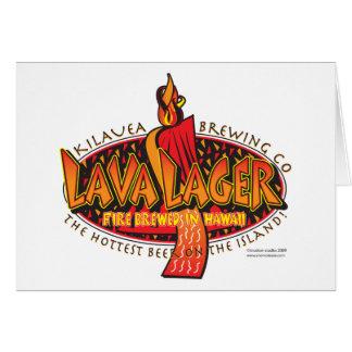 溶岩ラガー醸造の会社 カード