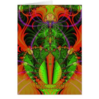 溶岩ランプ愛 カード