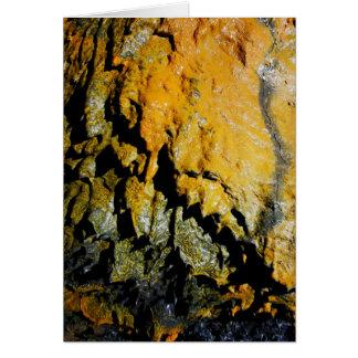 溶岩洞の洞窟 カード