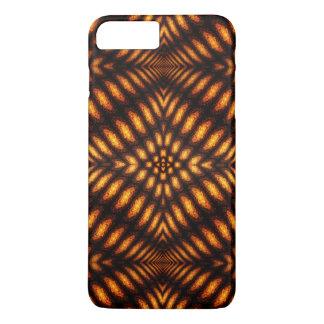 溶岩流パターン iPhone 8 PLUS/7 PLUSケース