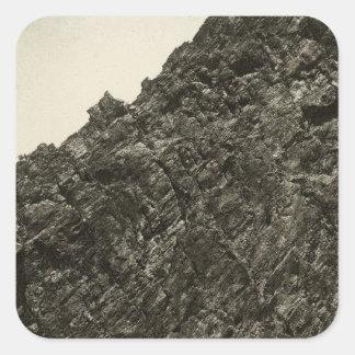 溶岩、草原の入り江渓谷、ネバダ スクエアシール