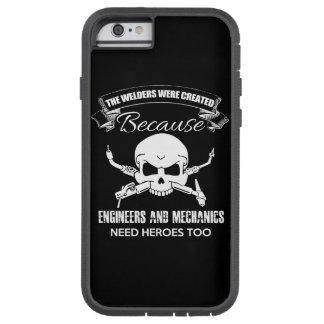 溶接工の英雄のiPhone 6/6sの場合 Tough Xtreme iPhone 6 ケース