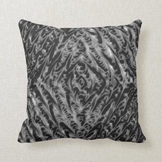 溶解した金属の曼荼羅の枕 クッション