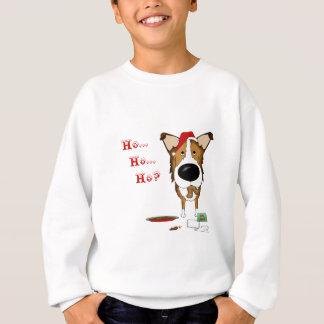滑らかなコリーのクリスマス スウェットシャツ