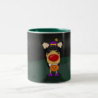 滑らかなコリーハロウィン ツートーンマグカップ