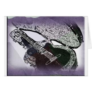 滑らかなジャズギター カード