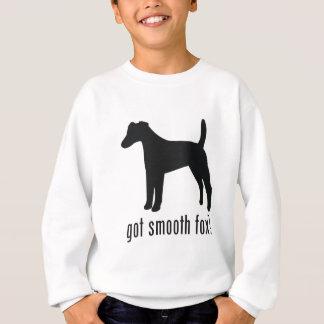 滑らかなフォックステリア犬 スウェットシャツ