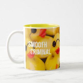 滑らかな刑事ゴム製Duckie ツートーンマグカップ