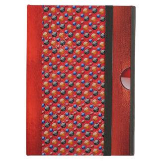滑らかな点のカッコいいパターンデザインのiPadの空気箱 iPad Airケース