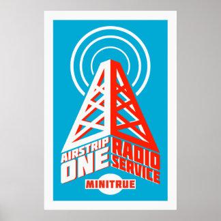滑走路1無線サービスポスター ポスター