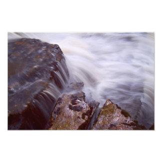 滝および石の勉強 フォトプリント