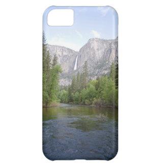 滝とのヨセミテの景色 iPhone5Cケース