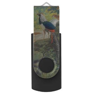 滝による女性キジのアムハーストトリオ USBフラッシュドライブ