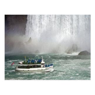 滝に入る霧の女中 ポストカード