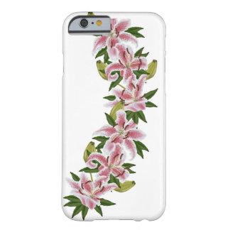 滝のように落ちる花 BARELY THERE iPhone 6 ケース