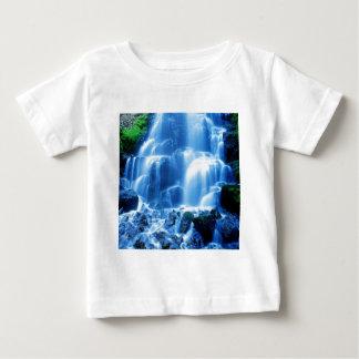 滝のコロンビアの峡谷 ベビーTシャツ