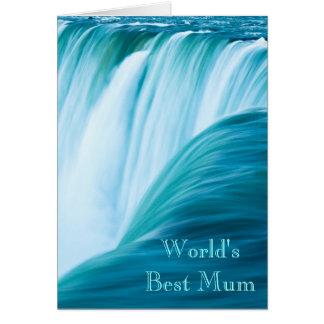 滝の世界で最も最高のなミイラ カード