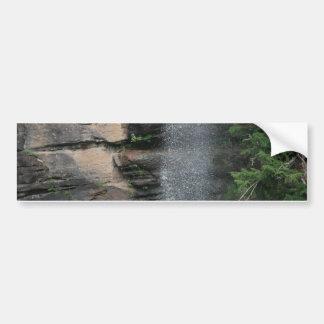 滝の低下 バンパーステッカー