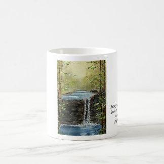 滝の入り江の流れの収集できるマグ コーヒーマグカップ