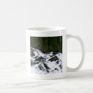 滝の前の滝 コーヒーマグカップ