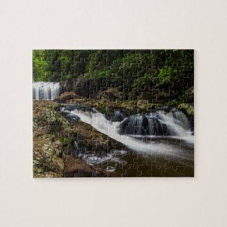滝の唇の滝ゴールド・コーストオーストラリア ジグソーパズル