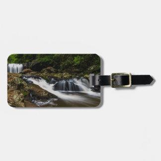 滝の唇の滝ゴールド・コーストオーストラリア ラゲッジタグ