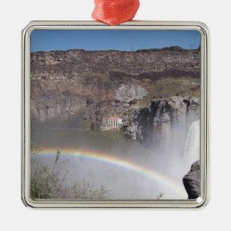 滝の虹 メタルオーナメント
