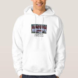 滝の野球のスエットシャツ パーカ